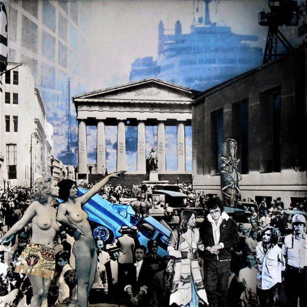 Blue Velvet von Daniel Zerbst - GaGaGallery