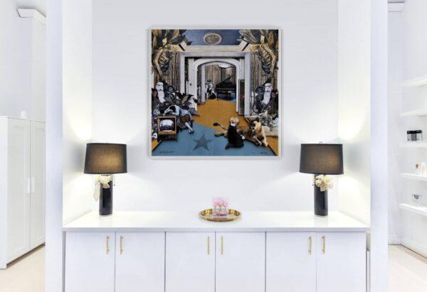 Dunkelstern Gnadenhof von Daniel Zerbst - GaGaGallery