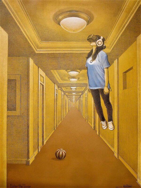 Enter the Tower von Daniel Zerbst - GaGaGallery