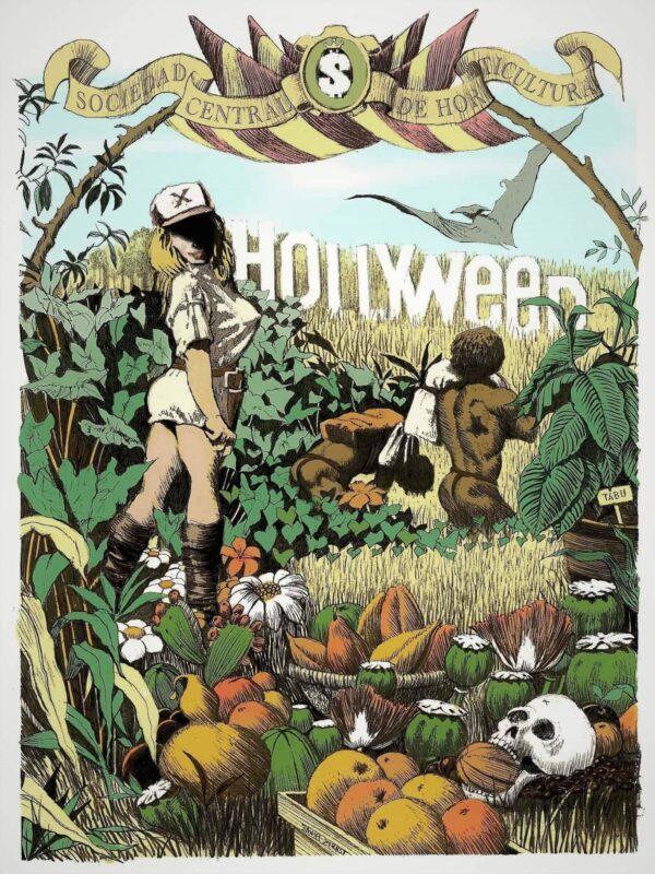 Hollyweed (GaGaGallery-Edition) von Daniel Zerbst - GaGaGallery