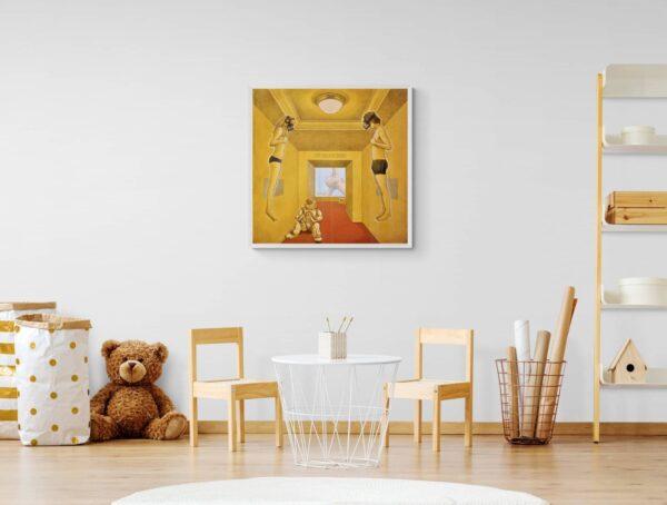 Into the golden room von Daniel Zerbst - GaGaGallery