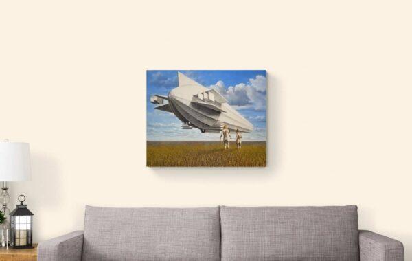 Jungfernflug von Daniel Zerbst - GaGaGallery