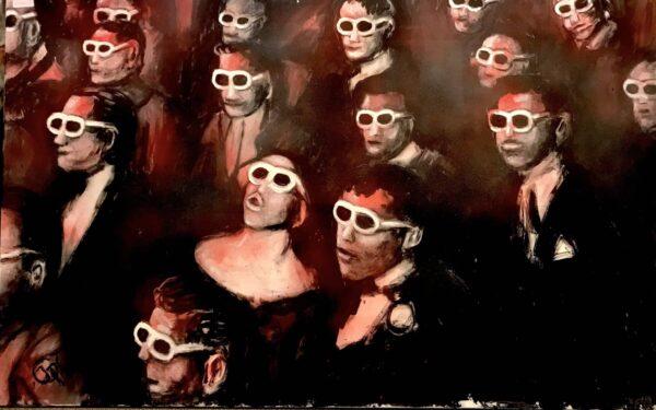 Publikum von Jörg Petersen - GaGaGallery
