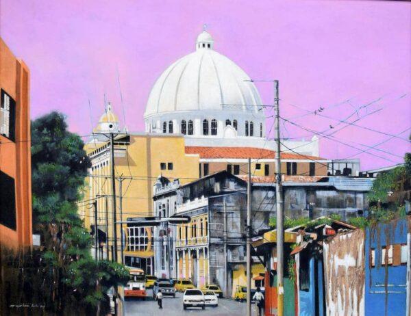 Second North Avenue von Hugo Martinez Acuna - GaGaGallery