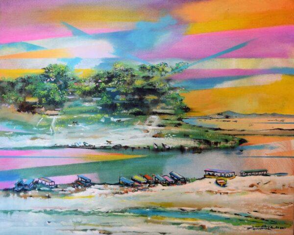 Suchitlan Lake von Hugo Martinez Acuna - GaGaGallery
