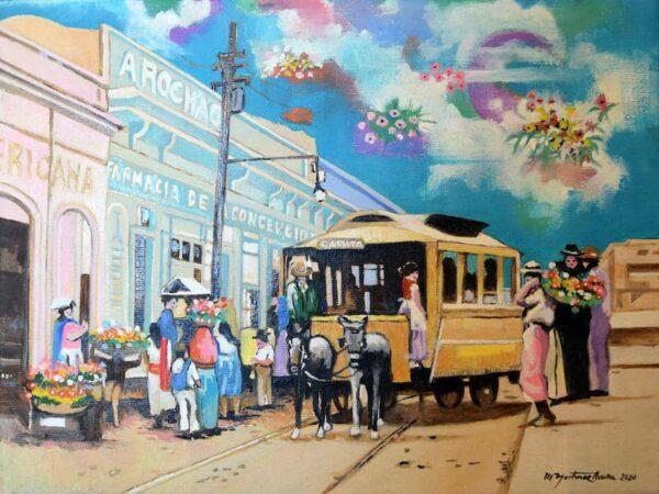 Tha Garita Tram von Hugo Martinez Acuna - GaGaGallery