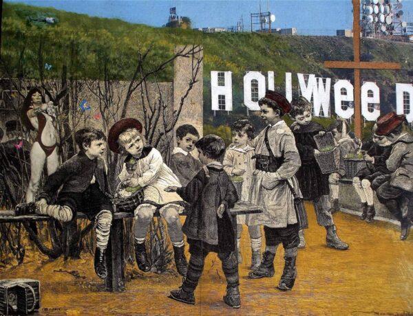 The kids from Hollyweed von Daniel Zerbst - GaGaGallery